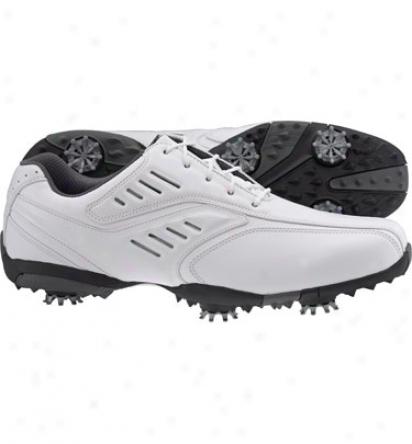 Footjoy Mens Street - White Golf Shoes (fj#56452)