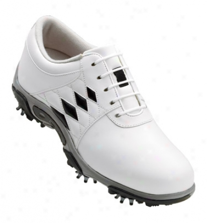 Fotjoy Womens Summer Series Golf Shoes (white/black) - Fj# 98810