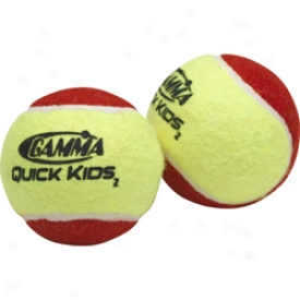 Gamma Quick Kids Low Compression Balls - 12 Pack