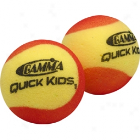 Gamma Quick Kids Low Compression Foam Balls - 12 Pack