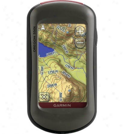 Garmin Oregon 550t Gps