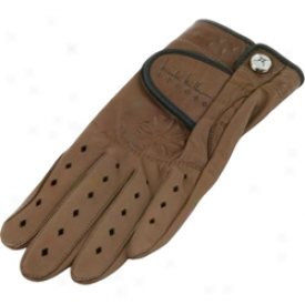 Glove It Nicole Miller Embossed Leather Glove