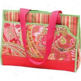 Glove It Pink Paisley Tote Bag