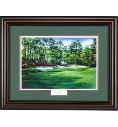 Golf Gifts & Gallery Framec Art - Augusta #13, 17 In. X 19 In.