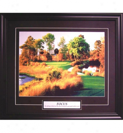 Golf Gifts & Gallery Framed Skill - Point of concentration, 25 In. X 21 In.