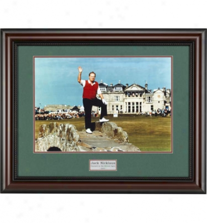Golf Gifts & Gallery Framed Art - Nicklaus Adieu, 24 In. X 30 In.