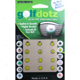 Gokf Gifts & Gallery Golf Dotz - Be Happy