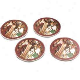 Golf Gifts & Gallery Vintage Sandstone Coasters