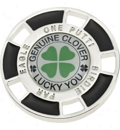 Good Luck Brand 4 Leaf Clover Chip Ball Marker