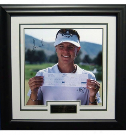 Gotta Have Ig Golf Annika Sorenstam In.59 In. Signed Photo