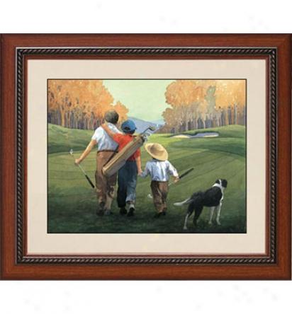 Gotta Have It Golf Buddies For Life - Mccann Framed Golf Art