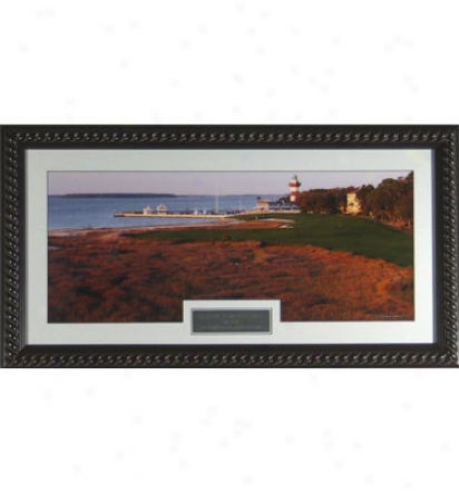 Gotta Have It Golf Harbour Town Golf Links Famous Lighthouse Framed Photo