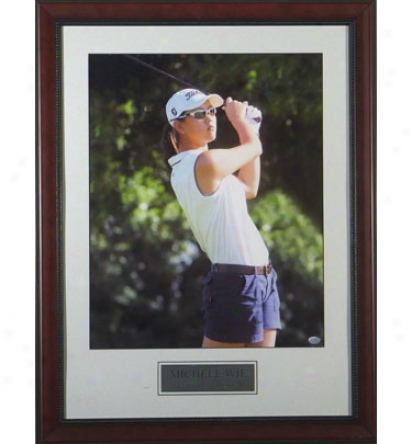 Gltta Have It Golf Michelle Wie - Lpga Rookie Year Framed Photo
