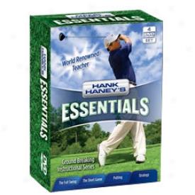 Hank Haney Essentials 4-dvd Box Set
