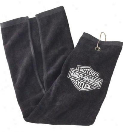 Harley Davidson Tri-f0ld Towel