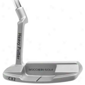 Heavy Putter Mid Load Series Satin Finish Putter