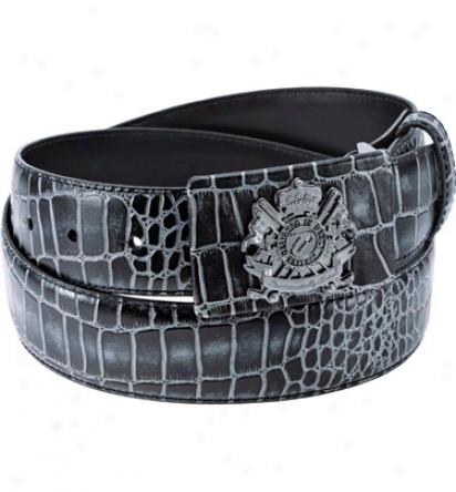 Ijp Mens Black Watch Limited Edition Enamel Belt