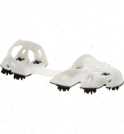 Insta Golf Shoes Pull-on Golf Spikes (white)