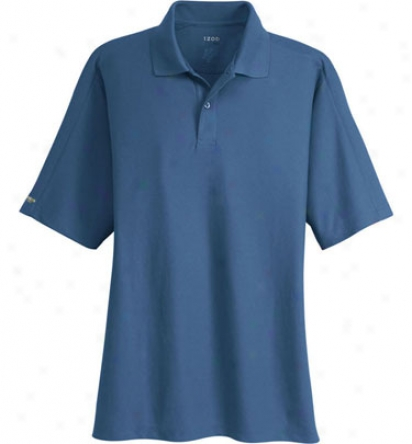 Izod Mens Logo Performance Pique Polo