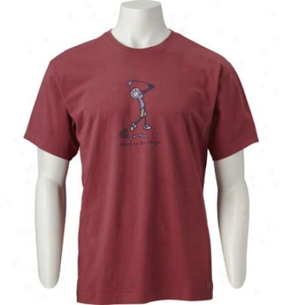 Life Is Welfare Mens Home On The Range Crusher T-shirt