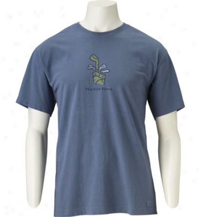 Life Ie Good Mens The Club Scene Crusher T-shirt - Golfsmith Exclusive