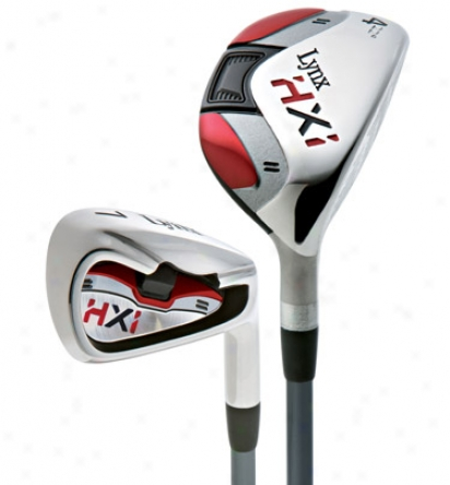 Lynx 2010 Hxi Iron Set With Graphite Shafts