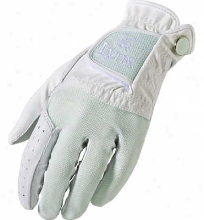 Lynx Womens Crystal Cat Cabretta Combo Glove