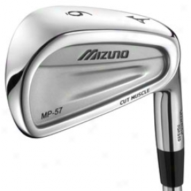 Mizuno Pre-owned Mp-57 Iron Set With Steel Shaft