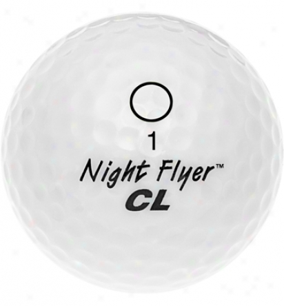Night Flyer Electronic Lighted Golf Ball (Of a ~ color)