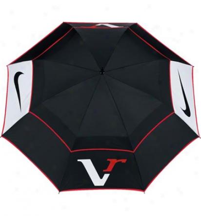 Nike 68 In. Victory Red Auto Open Windsheer Umbrella