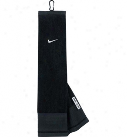 Nike Face/club Embroidered Tri-fold Towel