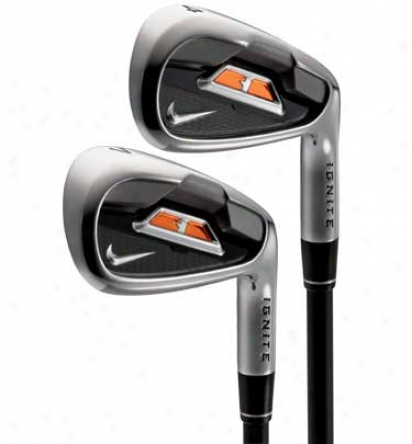 Nike Ignite 3 4-aw Iron Set With Steel Shafts