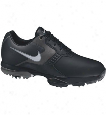Nike Mens Air Academy Ii - Black/silver/grey Goif Shoes