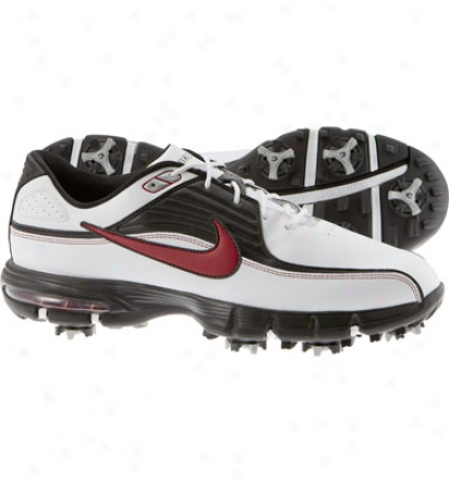 Nike Mens Air Rival Ii - White/erd/black Golf Shoes