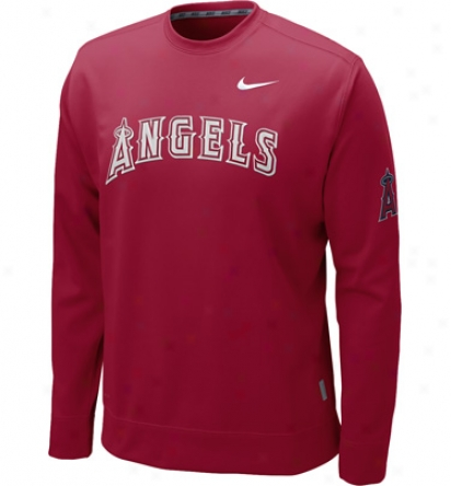 Nike Mens Mlb Ko Therma-fit Fleece Crew Pullover