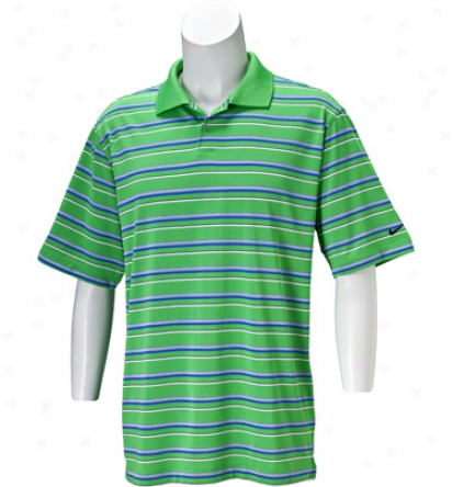 Nike Mens Journey Dri-fit Texture Stripe Polo