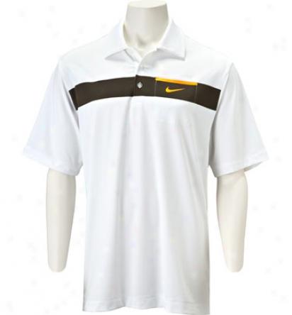 Nike Mens Tour Dri-fitU v Chest Stripe Polo
