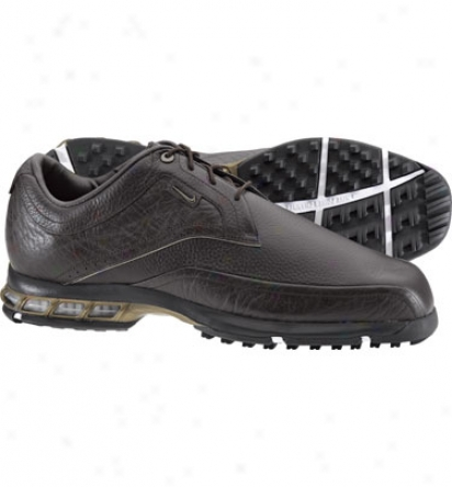 Nike Mens Tour Premium Teaching Golf Shoes (brown/bronze/brown