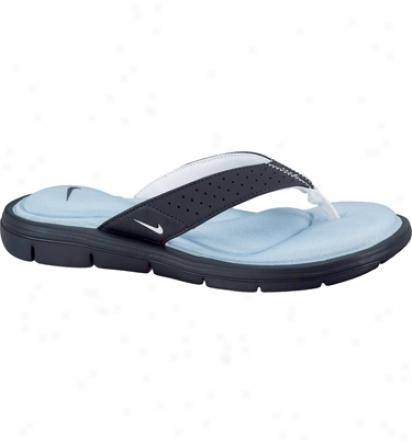 Nike Tennis Womens Nike Comfort Thong - Navy/light Blue