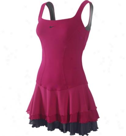 Nike Tennis Womens Smash Knit Dress