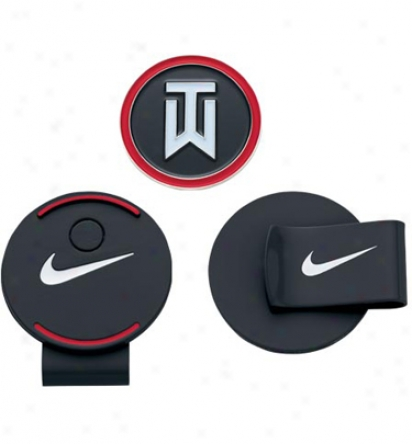 Nike Tiger Woods Hat Clip And Ball Marker