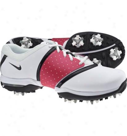 Nike Womens Air Embellish - White/black Golf Shoes