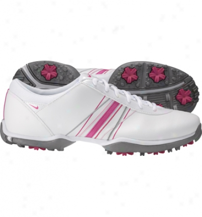 Nike Womens Delight Iii - White/spark/pink Golf Shoes