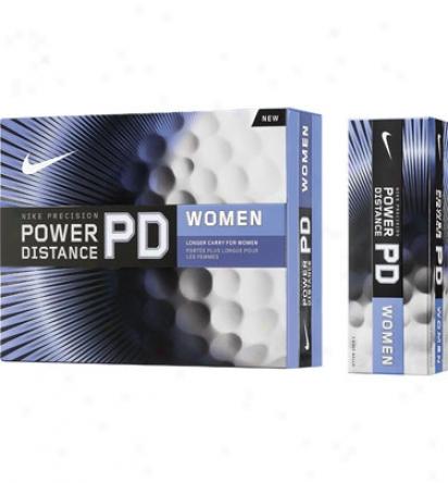 Nike Womens Piwer Distance Golf Balls
