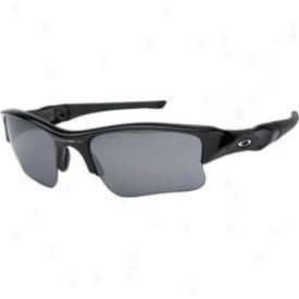 Oakley Flak Jacket Xlj Jet Black/black Iridium