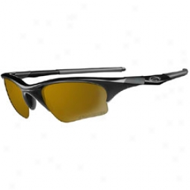 Oakley Half Jacket Polaized Jet Black/gold Iridium