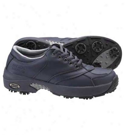 Oregon Mudders Womens Oxford Winter Golf Shoes (navy)