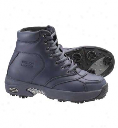 Oregon Mudders Womens Six Inch Winter Golf Boot (navy)