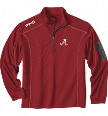 Ping Apparel Collegiate Mens Ranger 1/4 Zip Pullover