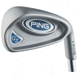 Preowned Ping Pre-owned G5 Iron Set 4-gw With Steel Shafts